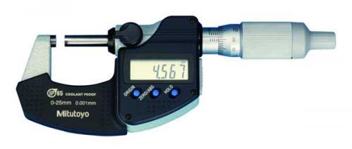 Digital mikrometer 0-25 mm med datautgång Mitutoyo