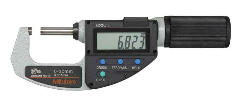 Digital mikrometer 0-30 mm Mitutoyo QuickMike med datautgång