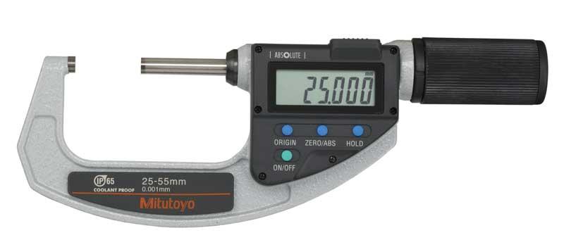 Digital mikrometer 25-55 mm Mitutoyo QuickMike med datautgång