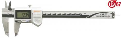 Digitalt skjutmått 0-150 mm Mitutoyo IP67 med runt djupmått