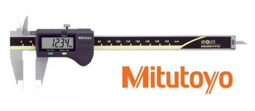 Digitalt skjutmått 0-150 mm Mitutoyo med datautgång, platt djupmått