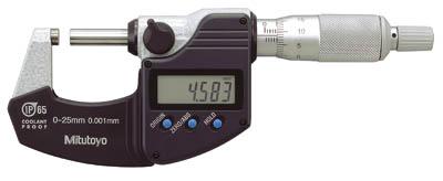 Digital mikrometer 0-25 mm Mitutoyo med datautgång