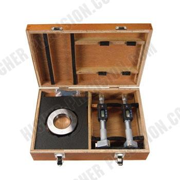 Trepunktsmikrometersats 50-75 mm Mitutoyo digital