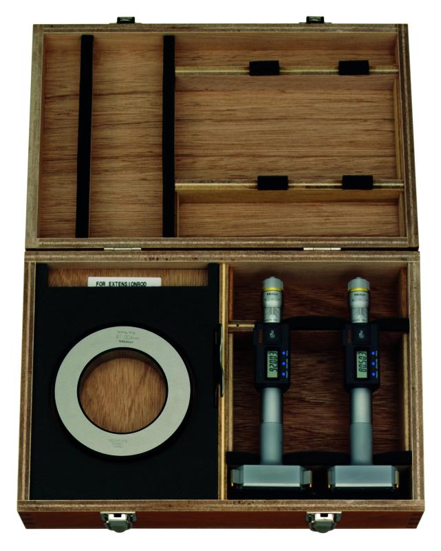 Trepunktsmikrometersats 75-100 mm Mitutoyo digital