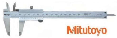 Skjutmått 0-150 mm 0,05 mm med låsskruv Mitutoyo