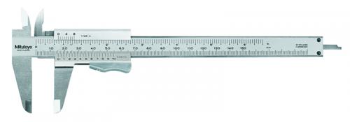 Skjutmått 0-150 mm/0-6 tum 0,05 mm med friktionslåsning Mitutoyo