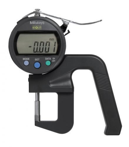 Tjockleksmätare 0-12 mm Mitutoyo digital