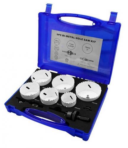 Hålsågsats 44-76 mm 9 delar Diesella