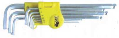 Insexnyckelsats 1,5-8 mm med kula 8 st