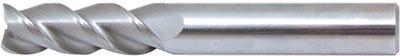 Pinnfräs HM 01 mm lång 3-skärig Alu
