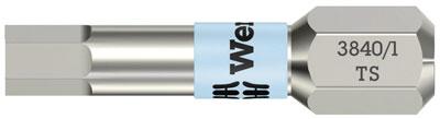 Bits insex 1,5 x 25 mm Wera HEX-plus torsion rostfri 10 st