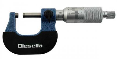 Mikrometer 0-25 mm Diesella 0,001 mm