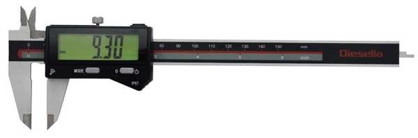 Digitalt skjutmått 0-150 mm IP67 Diesella Bluetooth