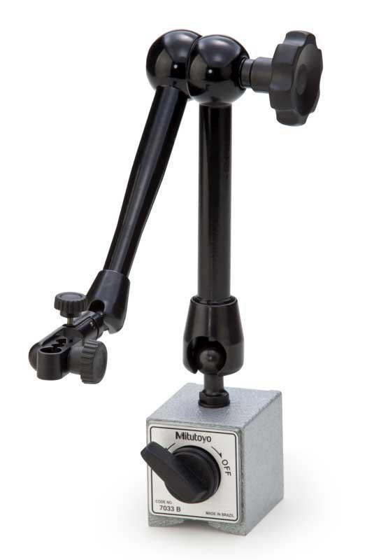 Magnetstativ 60 kg centrallåsning Mitutoyo