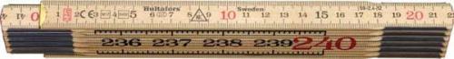 Meterstock 2,4 m Hultafors