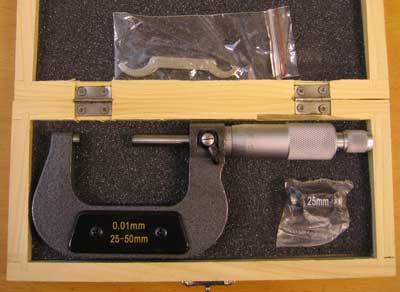 Mikrometer 025-50 mm