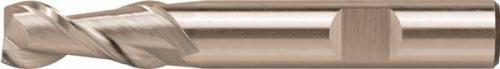 Pinnfräs 02 mm lång 2-skärig HSS-Co8 Alu Format