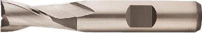 Pinnfräs 01 mm kort 2-skärig HSS-Co8 Format