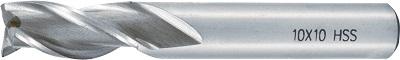 Pinnfräs 03 mm lång 3-skärig HSS