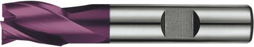 Pinnfräs 02 mm kort 3-skärig HSS-E PM TiAIN Format
