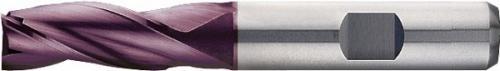 Pinnfräs 03 mm lång 3-skärig HSS-E PM TiAIN Format