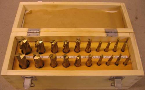 Pinnfrässats HSS-TiN 20 st 3-20 mm