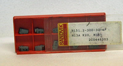 Stickvändskär radie 1,5 mm, Sandvik