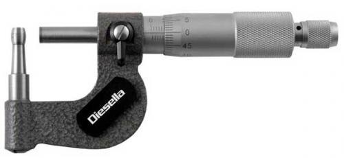 Rörmikrometer 0-25 mm Diesella