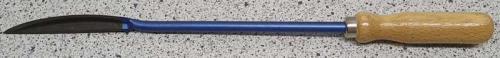 Skavstål trekantig skedskrapa 300 mm Heynen