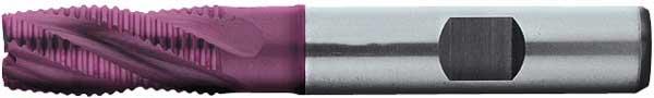 Skrubbfräs 06 mm kort HSS-E PM TiAIN Format