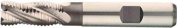 Skrubbfräs 06 mm kort HSS-E Format