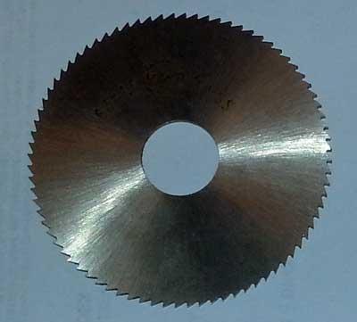 Slitsfräs 63 x 2,5 x 16 mm HSS fintandad