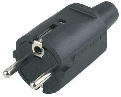 Stickpropp 230V gummi