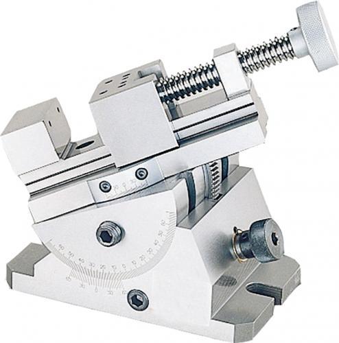 Precisonsskruvstycke tippbart/vridbart 70 mm Vertex