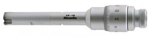 Trepunktsmikrometer 010-12 mm Diesella