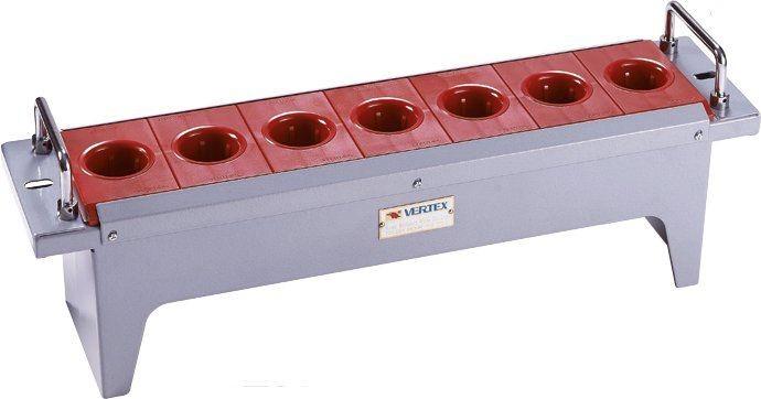 Verktygshylla ISO/BT/SK 40 7 st Vertex