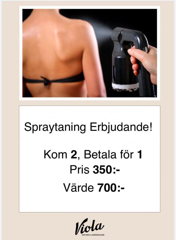 Spraytaning Erbjudande!!!