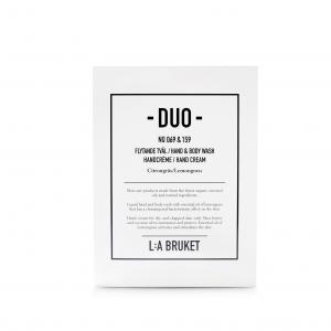 L:A Bruket Duo-kit Flytande Tvål/Handcréme Citrongräs 200ml