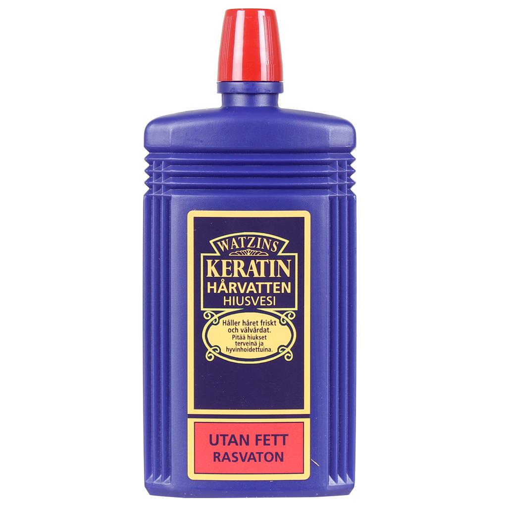 Gahns Keratin Hårvatten röd utan fett 200 ml