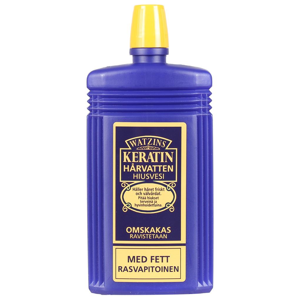 Gahns Keratin Hårvatten gul med fett 200 ml