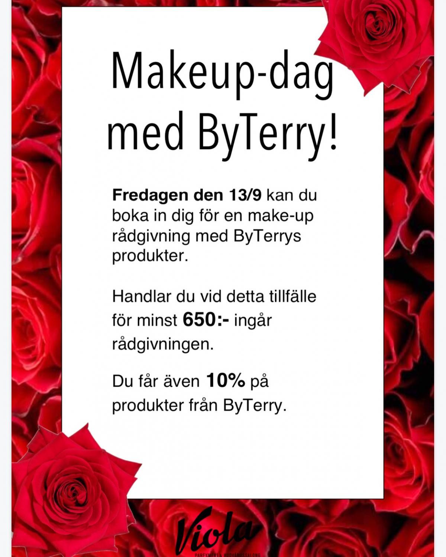 Makeup-dag med Byterry!!🌹🌹