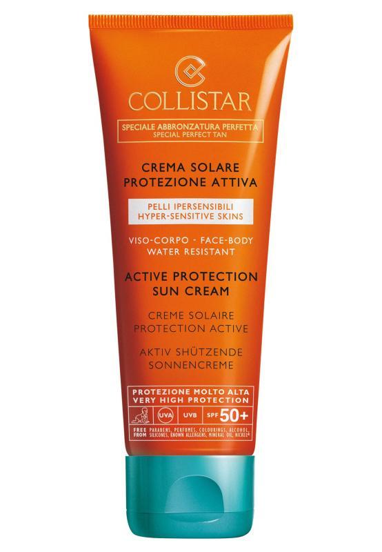 Collistar Active Protection Sun Cream Face/Body SPF 50 100 ml