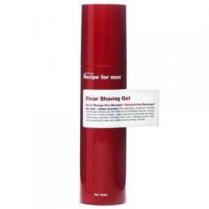 Recipe For Men Clear Shaving Gel