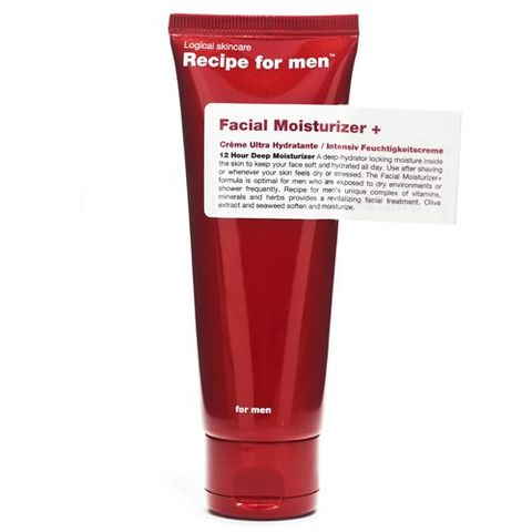 Recipe For Men Facial Moisturizer Plus