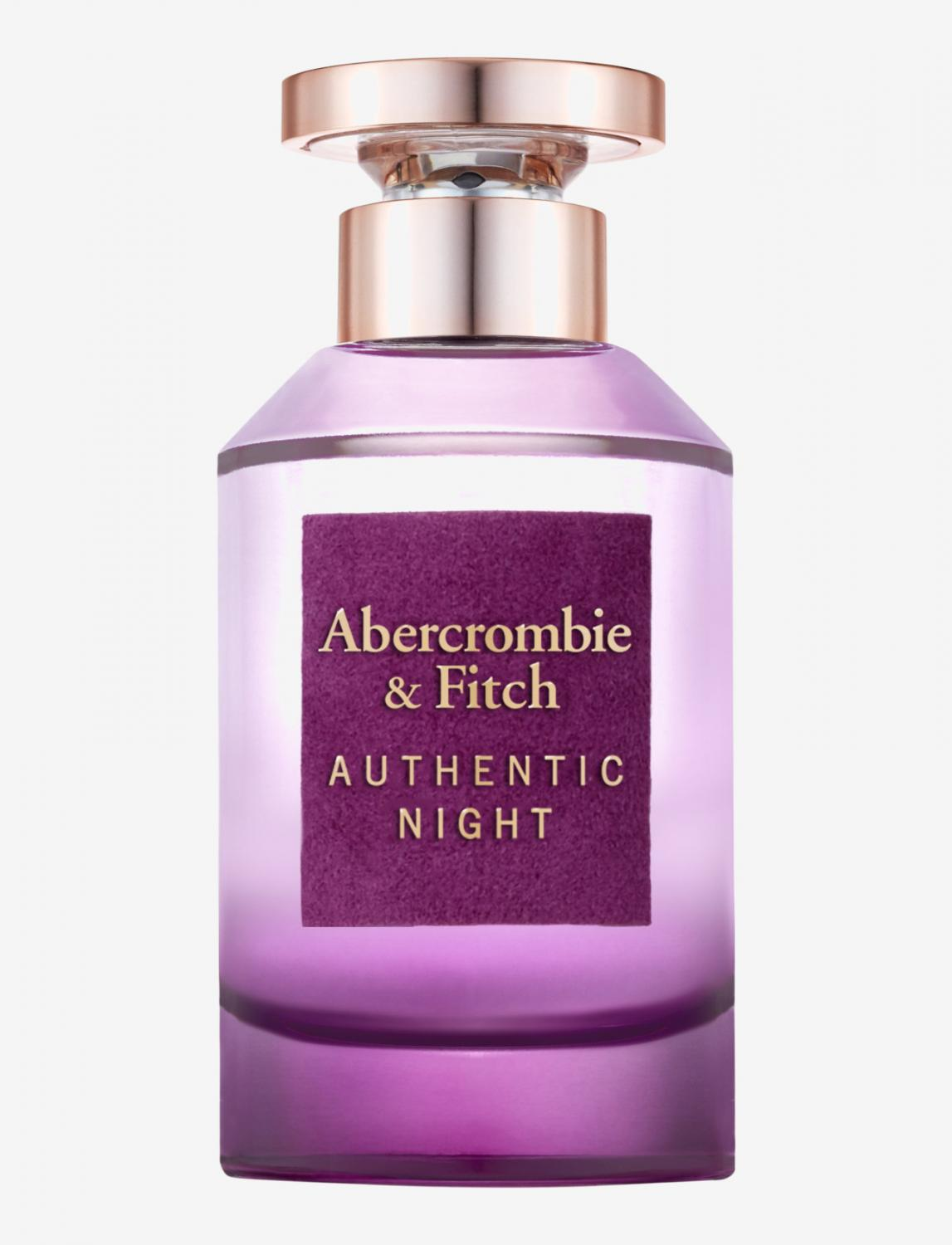 Abercrombie & Fitch Authentic Night Women Edt
