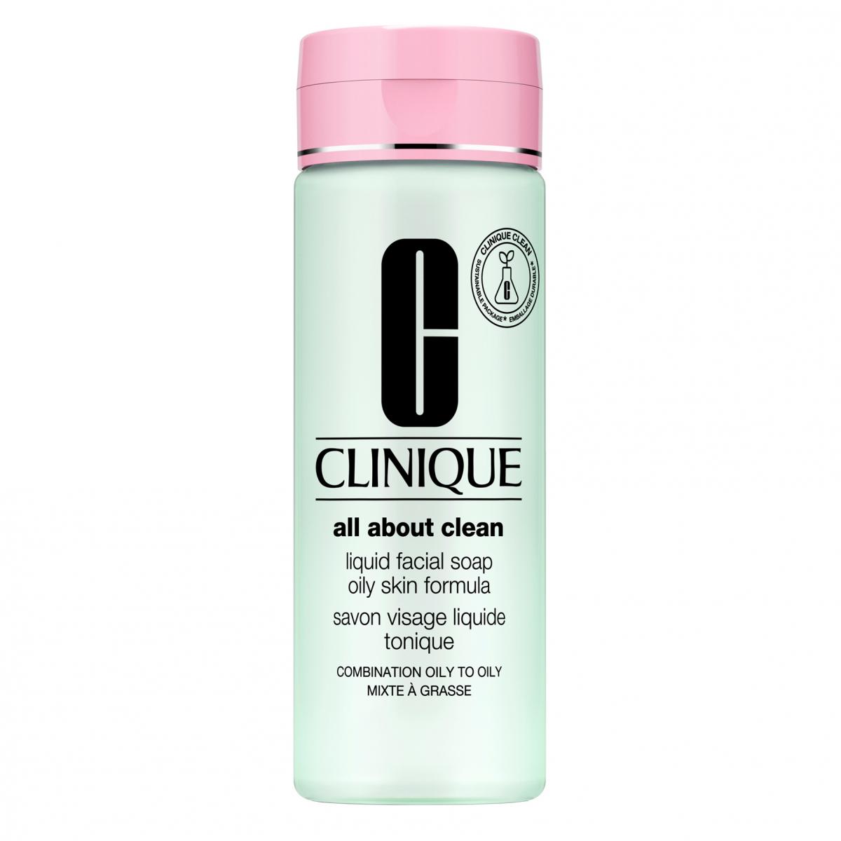 Clinique Liquid Facial Soap Oily Skin 200 ml