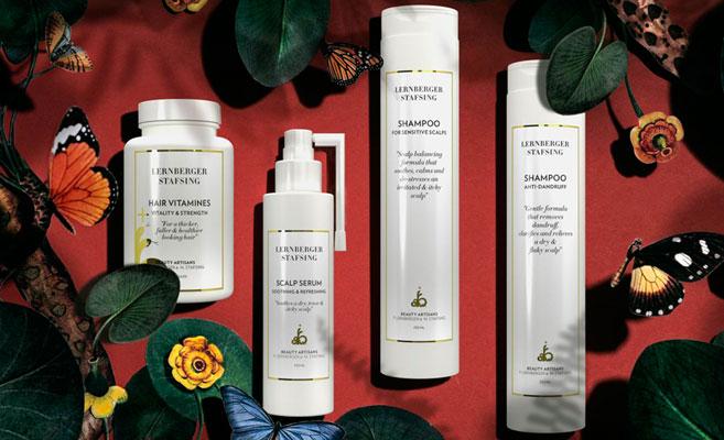 Ta hand om ditt hår efter den kalla vintern med Lernberger Stafsings serie Pharmacy