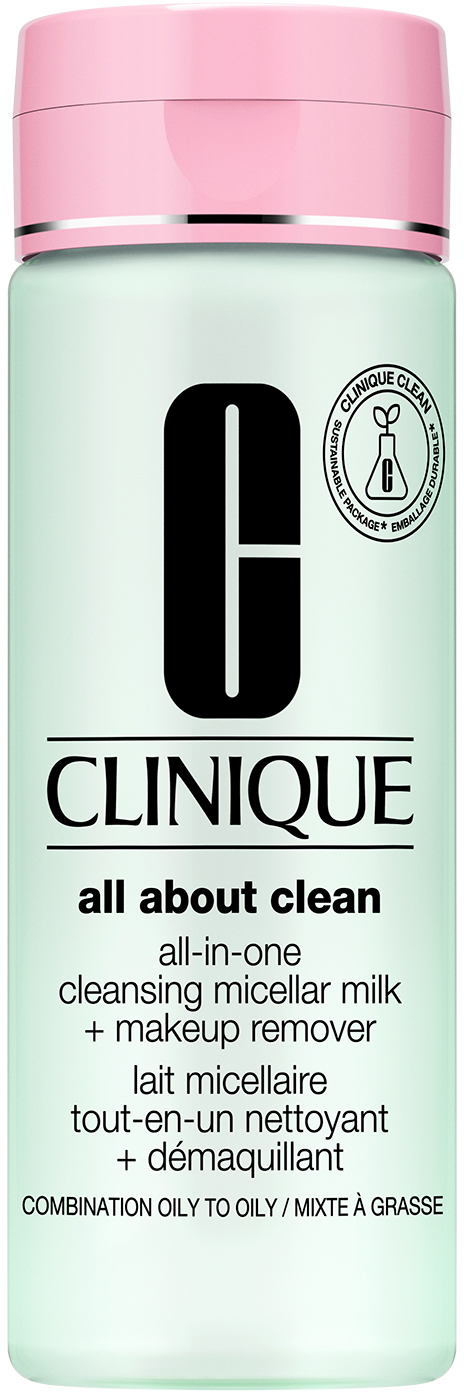 Clinique All-in-One Cleansing Micellar Milk + Makeup Remover Skin Type 3 & 4
