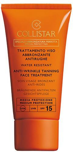 Collistar Anti-Wrinkle Tanning Face Treatment SPF 15