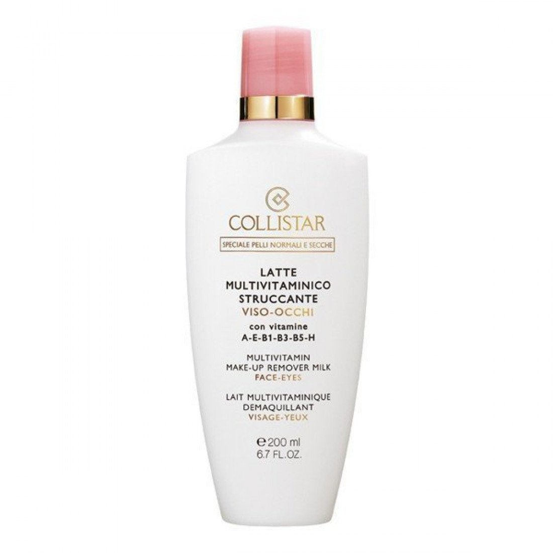 Collistar Multivitamin Make-up Remover Milk 200 ml